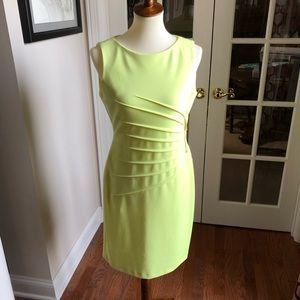Beautiful chartreuse dress